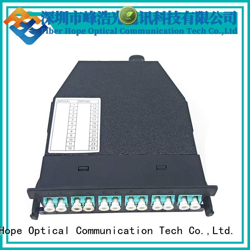 Fiber Hope efficient fiber patch panel used for communication systems