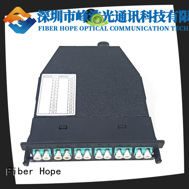 Fiber Hope good quality mpo to lc breakout cable networks