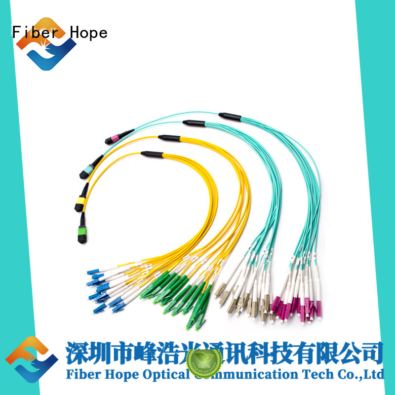 Fiber Hope good quality breakout cable used for communication systems