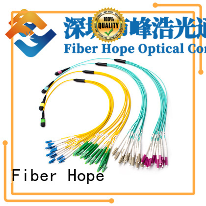 Fiber Hope professional fiber optic patch cord popular with WANs