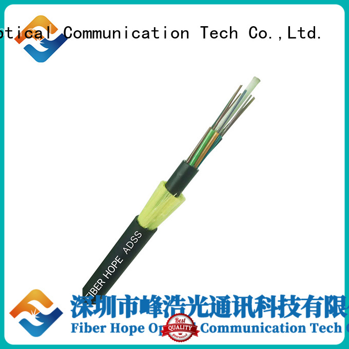 Fiber Hope high performance adss cable suitable for lightning