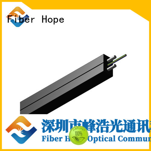 easy opertaion ftth cable with many advantages building incoming optical cables