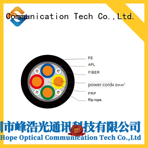 Fiber Hope composite fiber optic cable ideal for network system