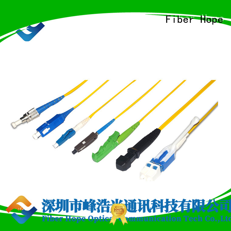 fiber pigtail popular with communication industry