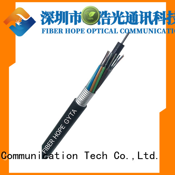 Fiber Hope high tensile strength fiber cable types oustanding for networks interconnection
