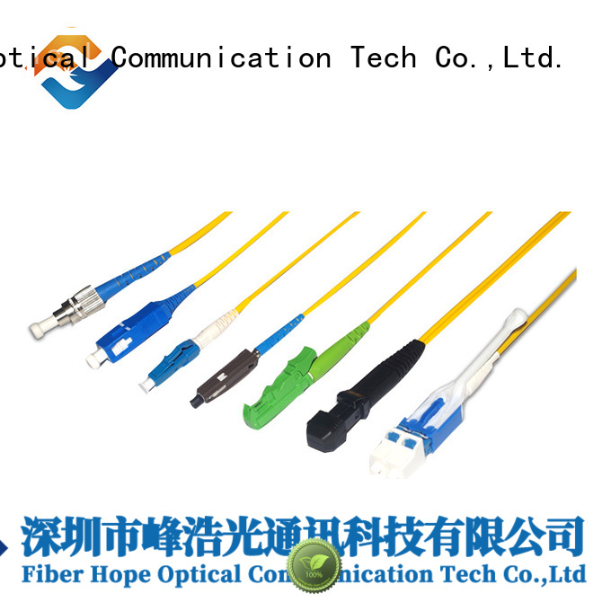 Fiber Hope harness cable communication systems