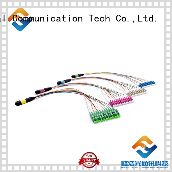 mpo cable popular with communication systems Fiber Hope