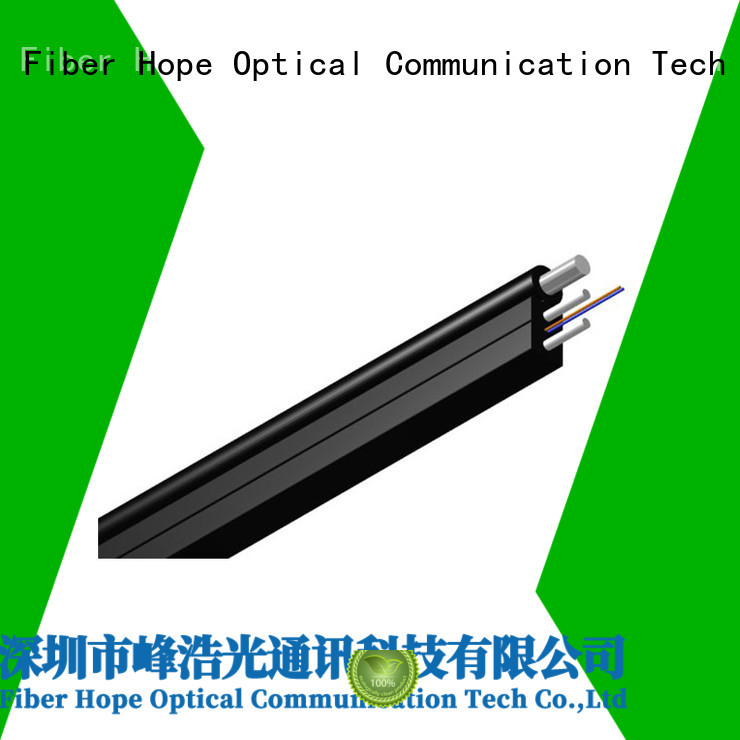 Fiber Hope ftth drop cable widely employed for user wiring for FTTH