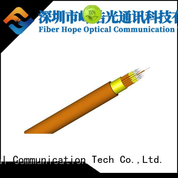 Fiber Hope fast speed indoor fiber optic cable computers