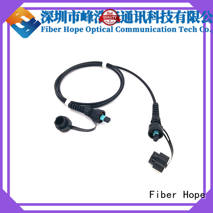 Fiber Hope professional mpo cable widely applied for networks