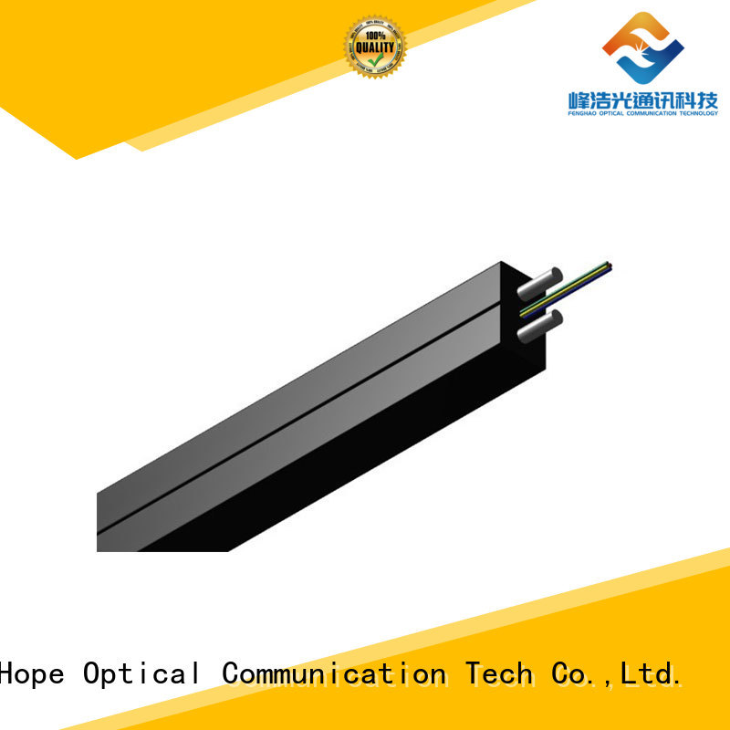 Fiber Hope ftth drop cable widely employed for network transmission