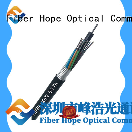 Fiber Hope armored fiber cable good for networks interconnection