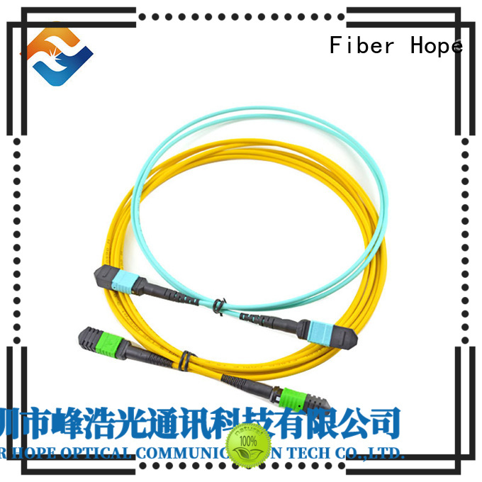 Fiber Hope mpo to lc widely applied for LANs