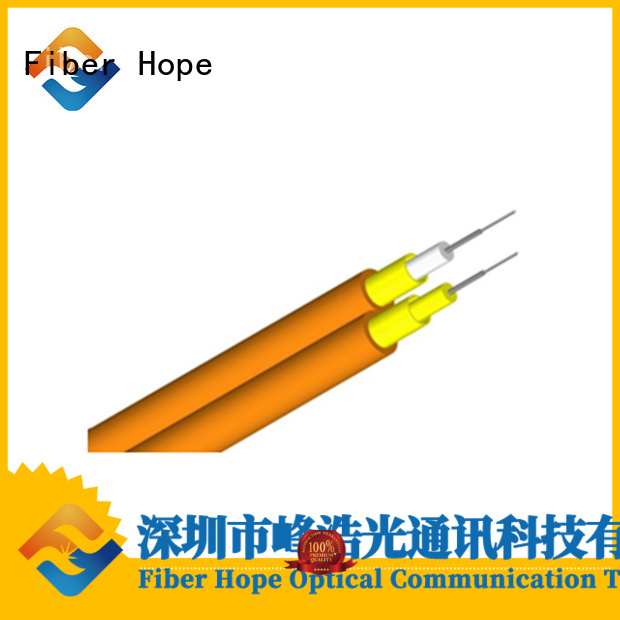 Fiber Hope large transmission traffic optical cable satisfied with customers for computers