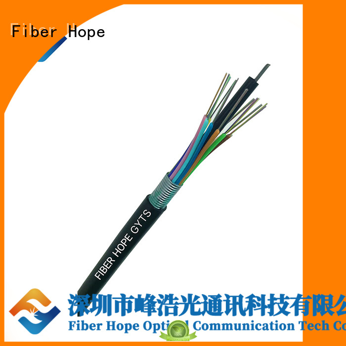 Fiber Hope waterproof outdoor fiber optic cable ideal for outdoor