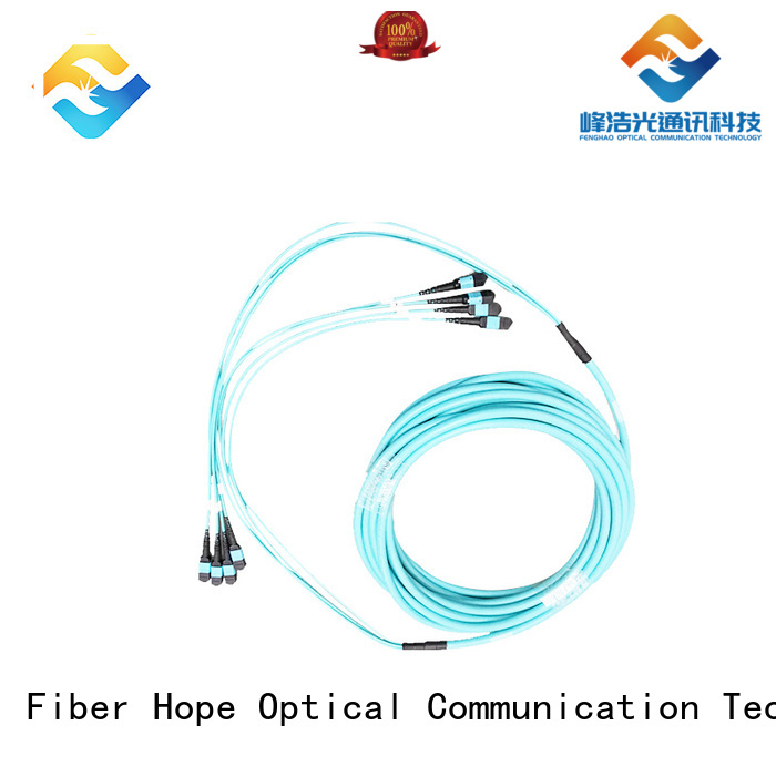 Fiber Hope mpo cable popular with communication industry