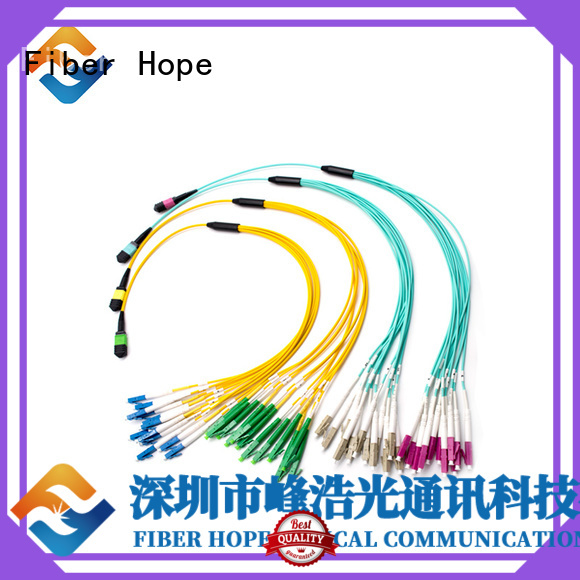 Fiber Hope patch cord types basic industry