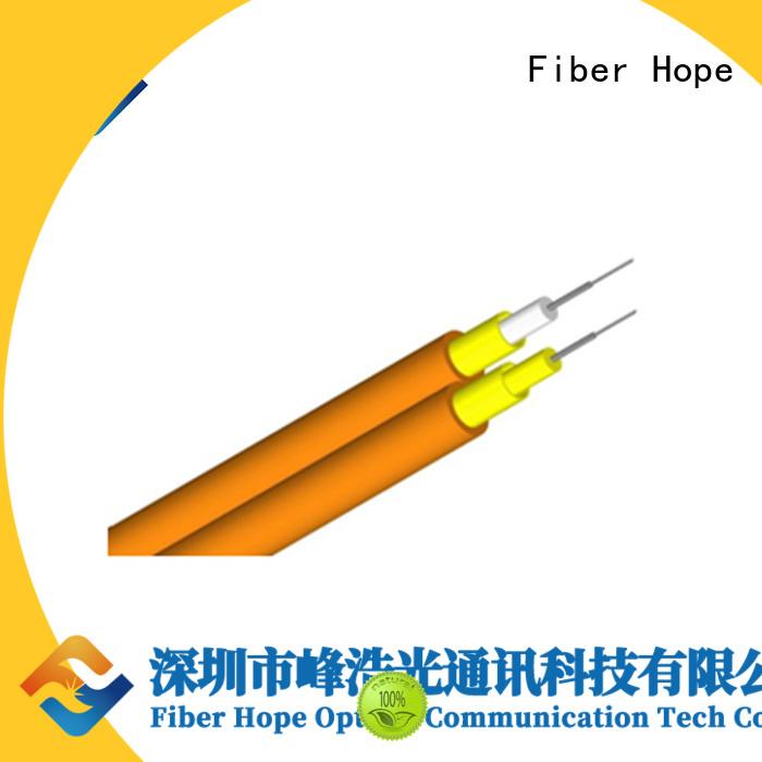 Fiber Hope multimode fiber optic cable suitable for transfer information