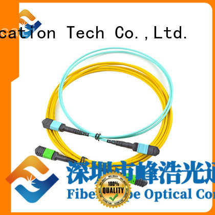 Fiber Hope mpo connector used for communication systems