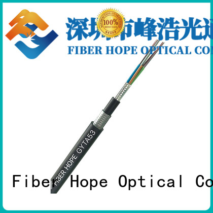 Fiber Hope high tensile strength fiber cable types best choise for networks interconnection