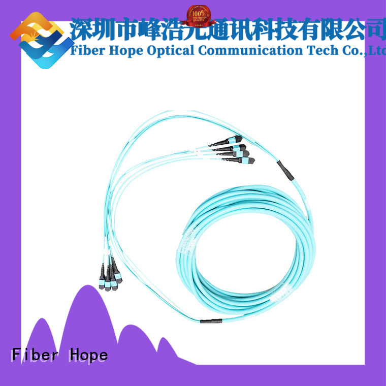 Fiber Hope fiber optic patch cord widely applied for communication systems