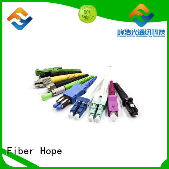 Fiber Hope fiber optic patch cord used for FTTx