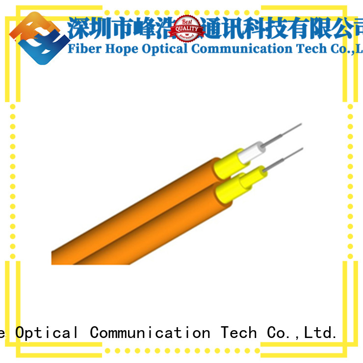 Fiber Hope multimode fiber optic cable transfer information