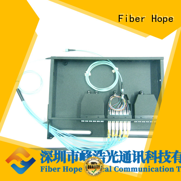 Fiber Hope fiber cassette used for WANs