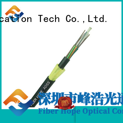 Fiber Hope mechanical design adss cable suitable for