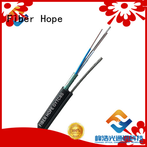 Fiber Hope high tensile strength outdoor fiber patch cable oustanding for outdoor