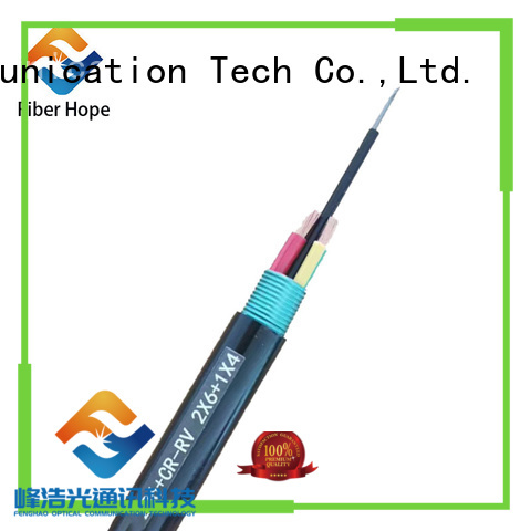 Fiber Hope composite fiber optic cable suitable for network system