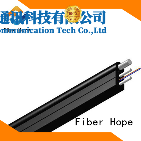 Fiber Hope fiber optic drop cable with many advantages indoor wiring