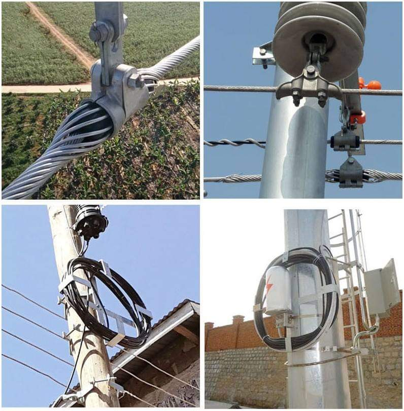 OPGW fiber optic cable application
