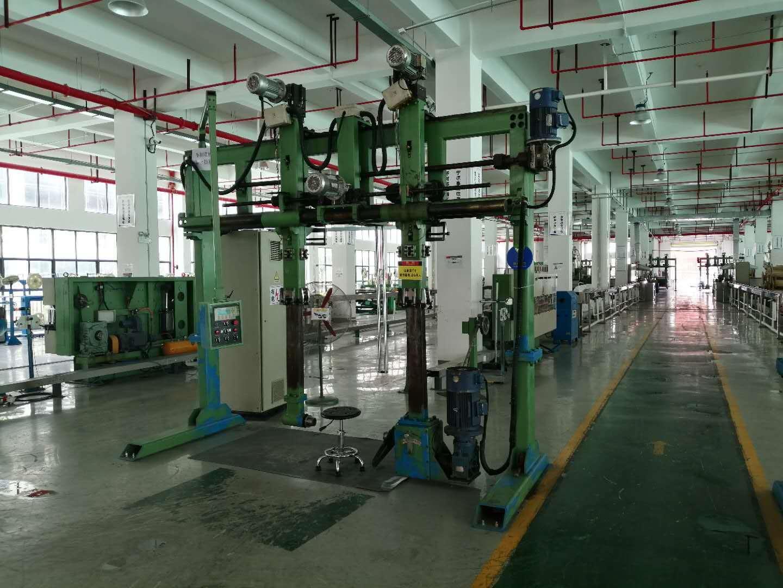Fiber hope optical cable manufacturing workshop