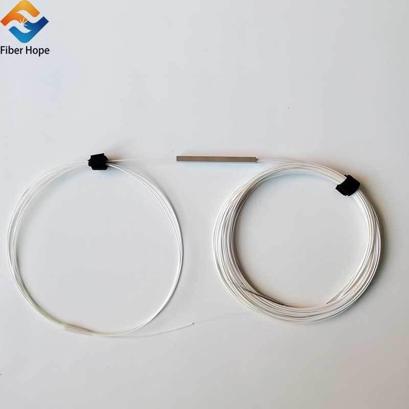 1:4 1x4 Steel Tube Fiber Optical PLC Splitter  For Epon/Gpon/FTTH Networks