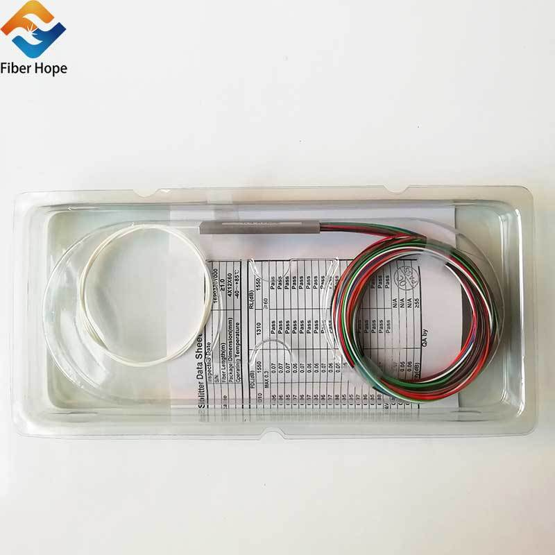 product-Fiber Hope-1:16 1x16 Steel Tube Fiber Optical PLC Splitter With SCAPC Connector For EponGpon