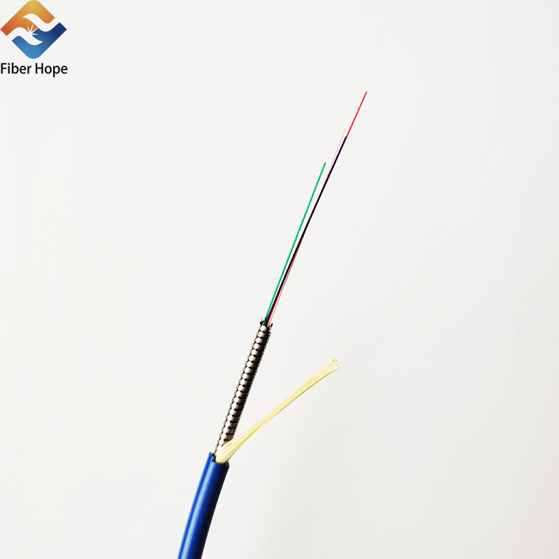 product-Fiber Hope-Simplex Armored Indoor Optical Fiber Cable GJSFJV-img