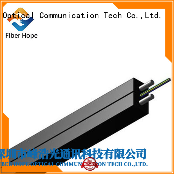 strong practicability fiber optic drop cable widely employed for indoor wiring