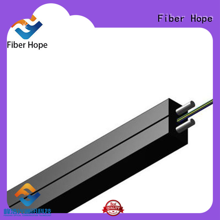 easy opertaion fiber optic drop cable with many advantages network transmission