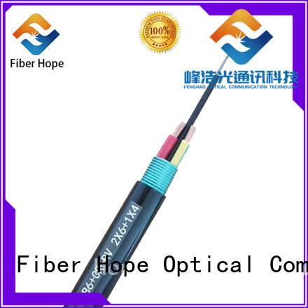 Fiber Hope composite fiber optic cable excelent for network system