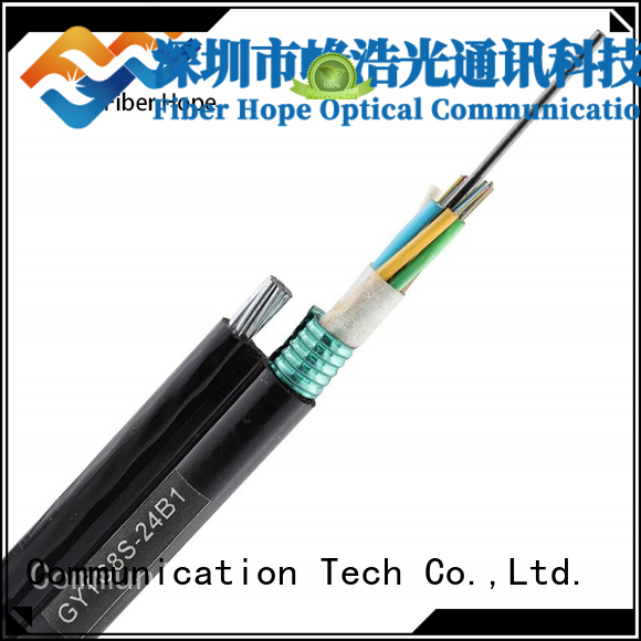 Fiber Hope waterproof outdoor cable best choise for networks interconnection