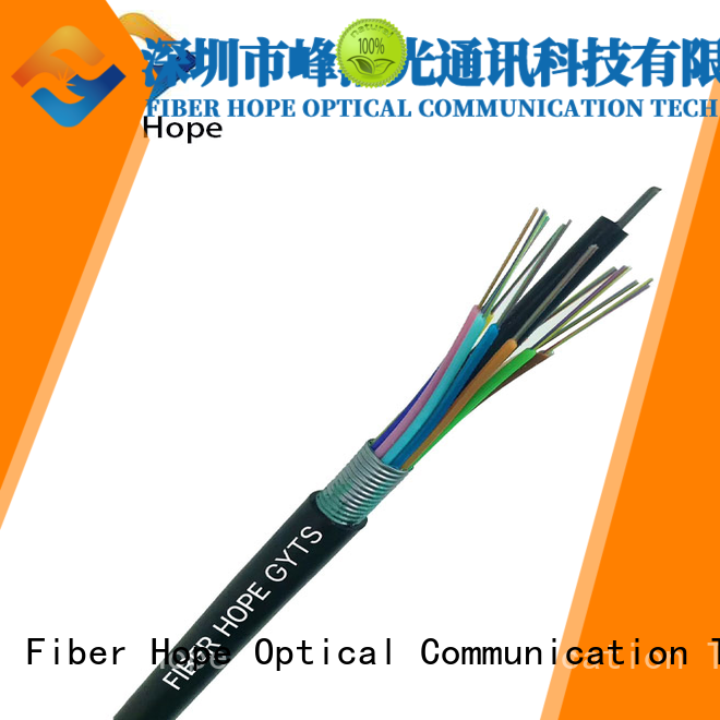 waterproof armored fiber cable ideal for outdoor