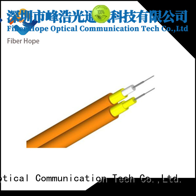 Fiber Hope clear signal 12 core fiber optic cable suitable for communication equipment