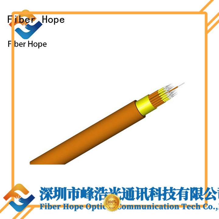 Fiber Hope large transmission traffic indoor cable satisfied with customers for computers