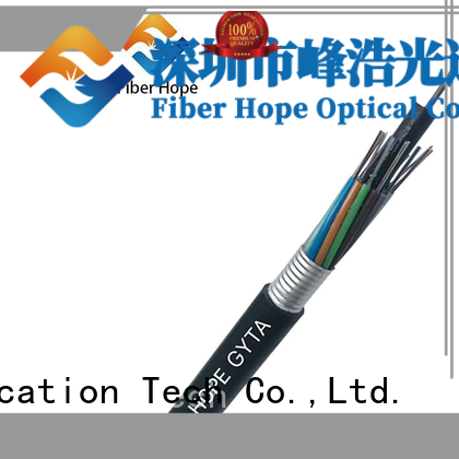 waterproof fiber cable types good for networks interconnection