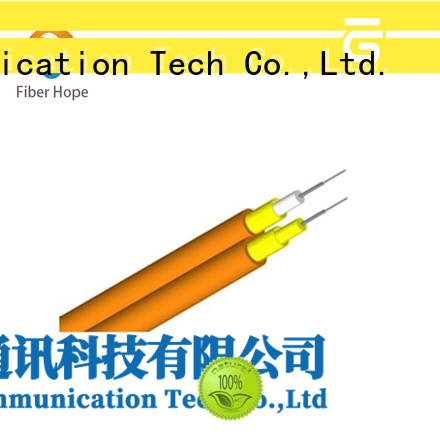 Fiber Hope fiber optic cable excellent for communication equipment