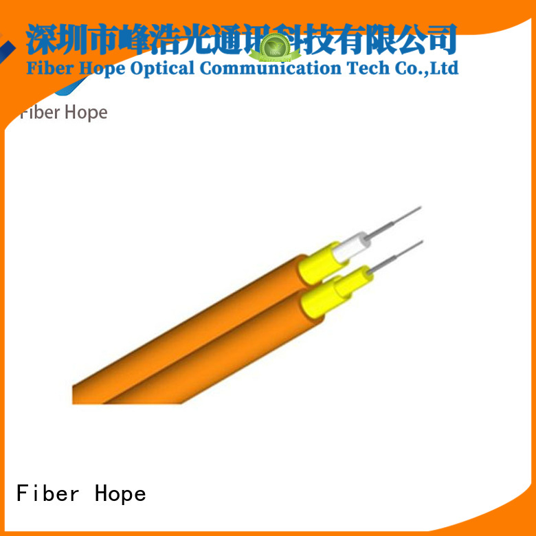 Fiber Hope multicore cable excellent for indoor