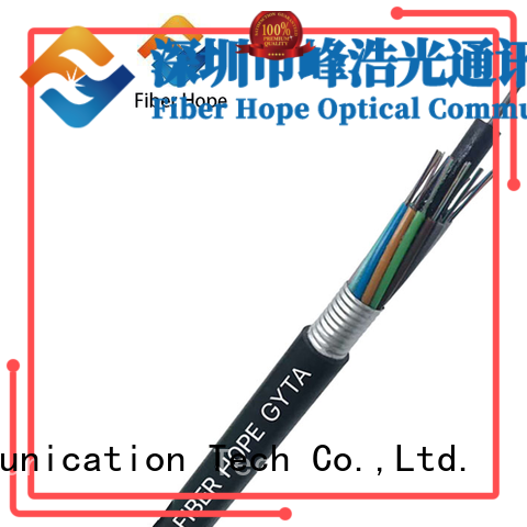 Fiber Hope thick protective layer outdoor fiber patch cable good for outdoor